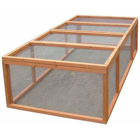 Enclos au sol 4-5 animaux / Sans toit