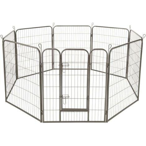 Enclos cage pour chien modulable 100 cm