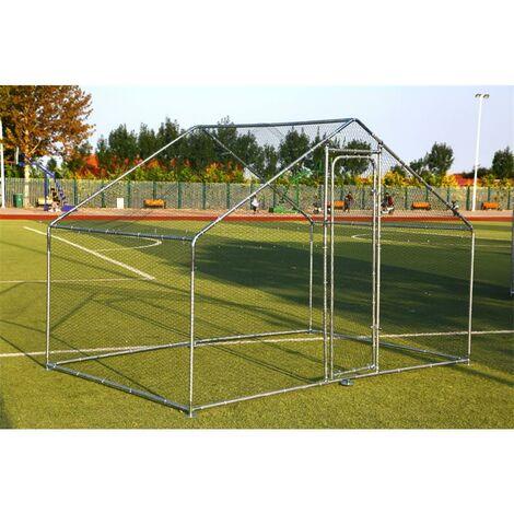 Enclos extérieur Poulailler 3x2 m Enclos cage à poulet