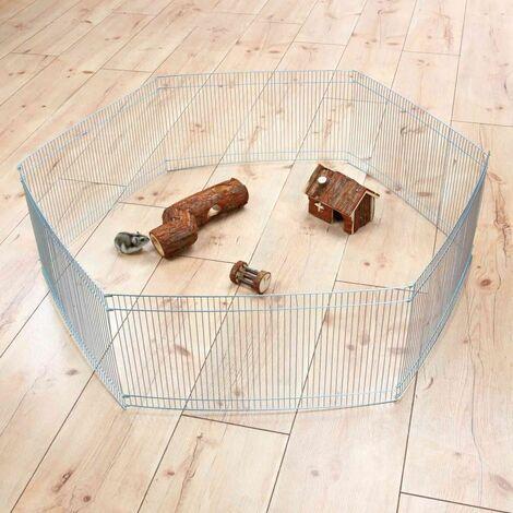 Enclos, intérieur, hamster, en métal, galvanisé - ø 90 × 25 cm
