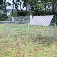 Enclos Lapin Parc ouvert Cage à lapin Lièvre Clapier Activité extérieure