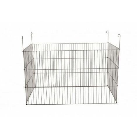 Enclos métal extérieur rectangulaire 1m pour rongeur