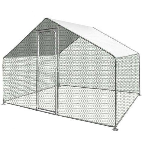 Enclos poulailler / Volière extérieur 6 m2