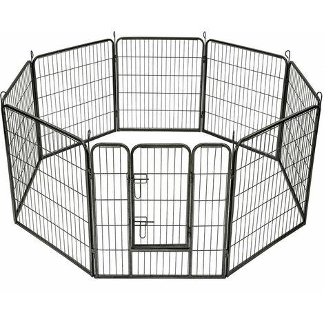 Enclos pour chien modulable 80 cm