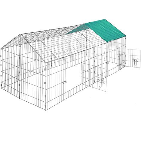 Enclos pour rongeurs 180 x 75 x 75 cm