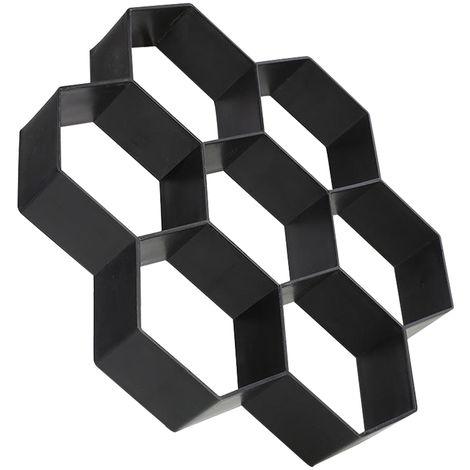 Encofrado deslizante Hexagono camino de baldosas de piedra Camino del molde del fabricante