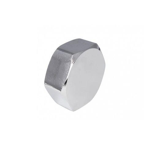 End cap chrome 3/8 (10) chrome cover, z, 10