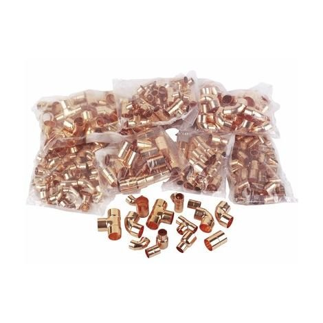 """main image of """"End-Feed Copper Fittings Pack (200 Fittings)"""""""
