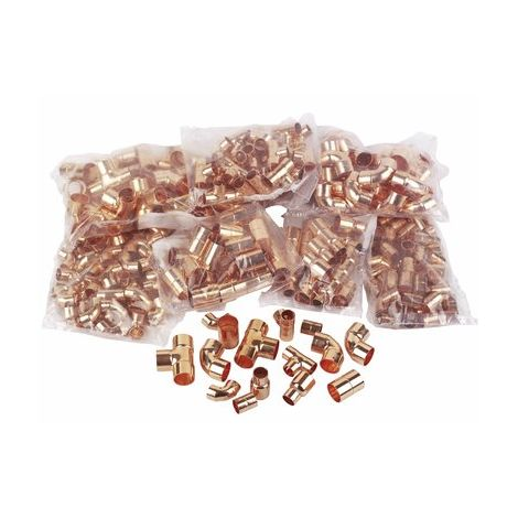 """main image of """"End-Feed Copper Fittings Pack (275 Fittings)"""""""