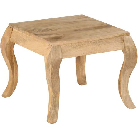 End Table 45x45x40 cm Solid Mango Wood