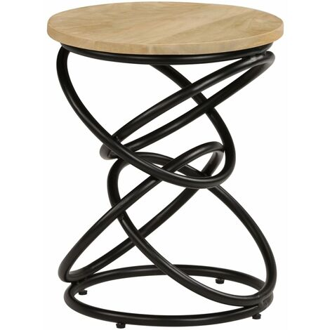 End Table Solid Mango Wood 40x50 cm - Brown