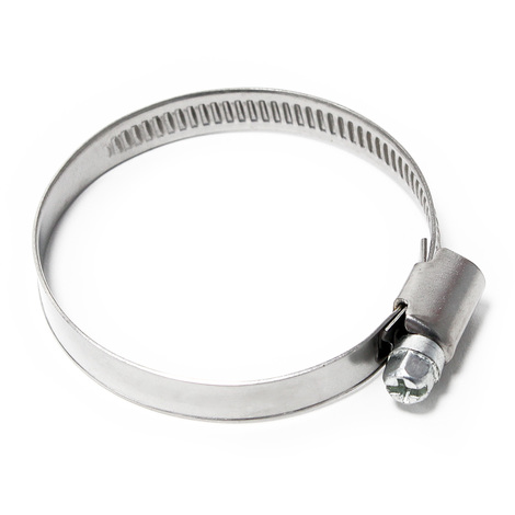 Endless wormdrive hose clamp W4 stainless steel width 9mm clamping range 0.98-1.57 inch (25-40mm)
