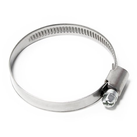 Endless wormdrive hose clamp W4 stainless steel width 9mm clamping range 19/16-2.36 inch (40-60mm)