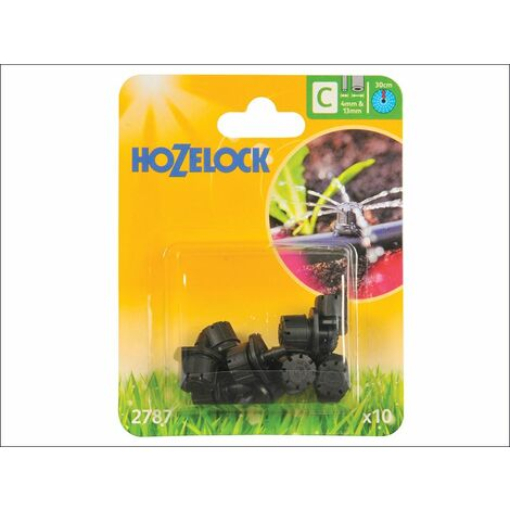 Endline Adjustable Mini Sprinkler 4mm/13mm (10 Pack) (HOZ2787)