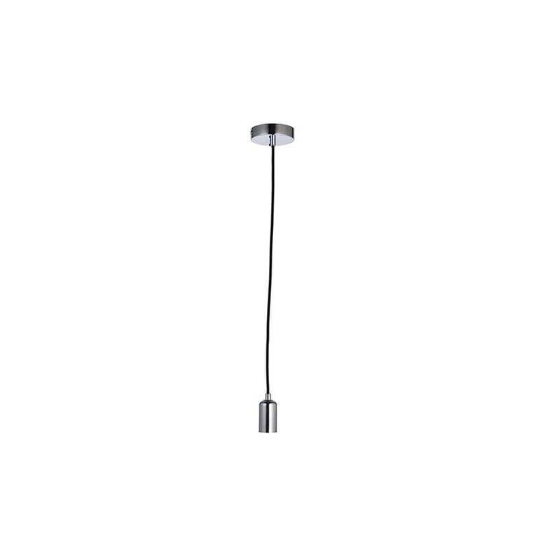 Image of 76573 Studio 1 Light Ceiling Pendant Chrome Plate - Endon