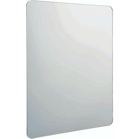 Endon Lighting Esprit - Bathroom Integrated LED Wall Lamp Mirrored Glass & Metallic Silver Effect Paint 1 Light IP44