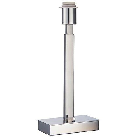 Endon Lighting Norton USB - Table Lamp Chrome Effect Plate 1 Light IP20 - E27