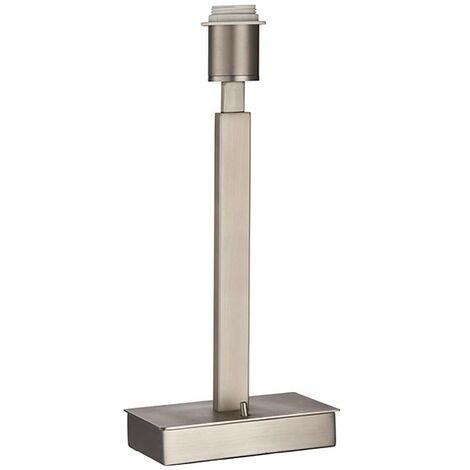 Endon Lighting Norton USB - Table Lamp Matt Nickel Plate 1 Light IP20 - E27