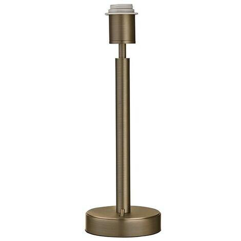 Endon Lighting Owen USB - Table Lamp Dark Antique Bronze Effect Plate 1 Light IP20 - E27