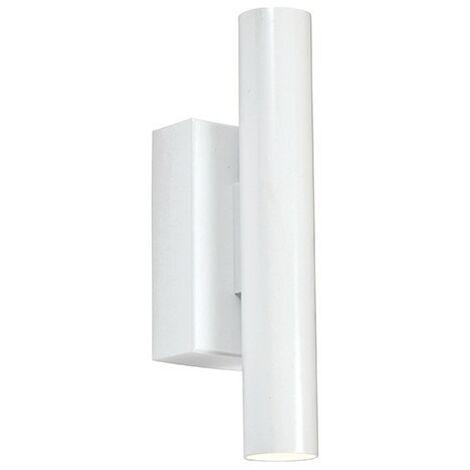 Endon Lighting Staten - Integrated LED Wall Lamp Matt White Paint 2 Light IP20