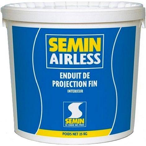Enduit Airless SEMIN Fin 25 kg