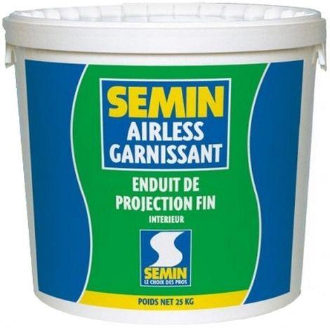 Enduit Airless SEMIN Garnissant 25 kg
