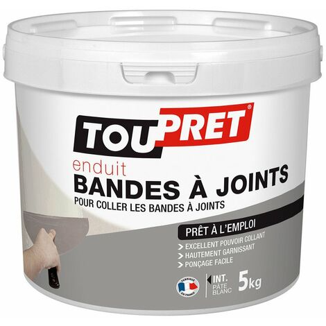 Enduit Bande A Joint Pate 5kg - TOUPRET