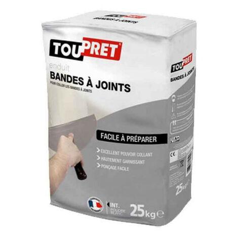 Enduit bande à joint poudre TOUPRET 25Kg - SABJ25