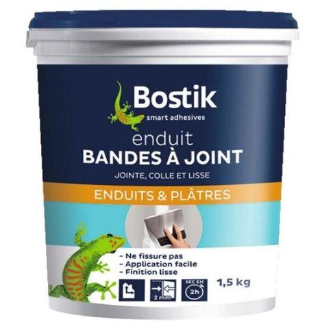 Enduit bandes à joint pour plaques de plâtre pot 1,5 kg