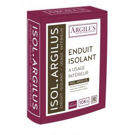 Enduit d'argile isolant ISOL'ARGILUS Sac de 10 kg | sac(s) de sac 0 - Sac de 10 kg