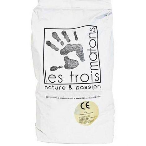 Enduit de Chaux - Mineral 000 - Les 3 Matons - Bianca - 25 kg