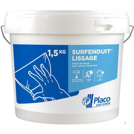 """main image of """"Enduit de lissage Placo ® 1,5 kg - pâte prête à l'emploi Surfenduit® Lissage"""""""