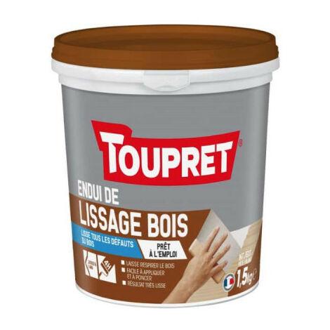Enduit de lissage TOUPRET bois - 1,5Kg - 7115CD0911