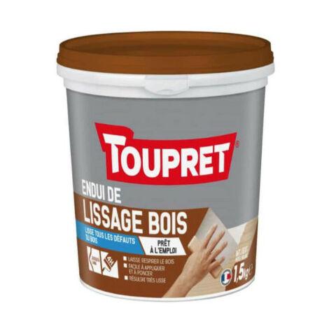 Enduit de lissage TOUPRET bois - 1,5Kg - BCLIPBO1.5