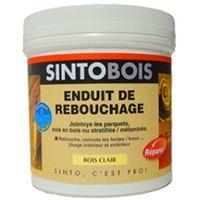 Enduit de rebouchage Bois Clair SINTO - 450g - 34781