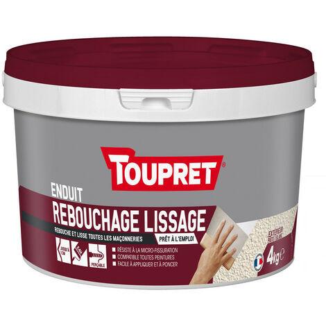 Enduit de Rebouchage Lissage 2en1 pâte 4kg
