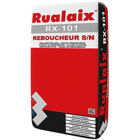 Enduit de rebouchage toutes épaisseurs Rualaix SN rouge rx101 (5kg)