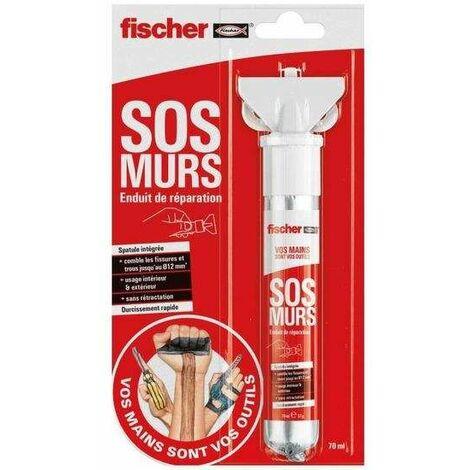 Enduit de réparation SOS MURS pour réparer les fissures - Fischer
