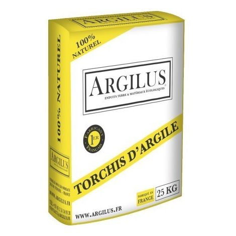 Enduit de torchis à l'argile ARGILUS Sac de 25 kg | sac(s) de 0 - Sac de 25 kg
