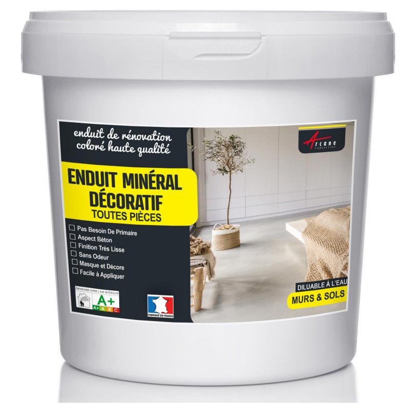 enduit d coratif mural et sol min ral aspect b ton. Black Bedroom Furniture Sets. Home Design Ideas