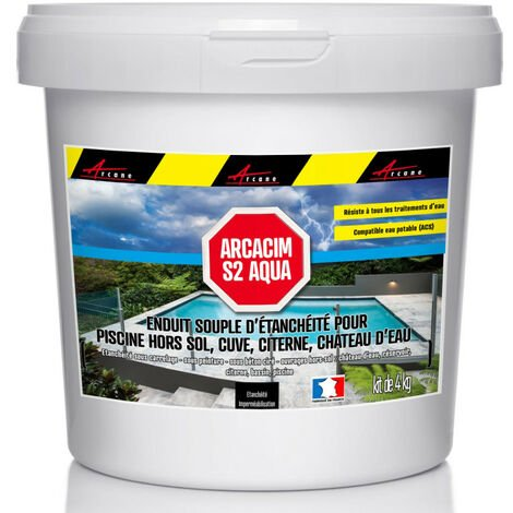 Enduit d'étanchéité Piscine Cuve Hors Sol - ARCACIM S2