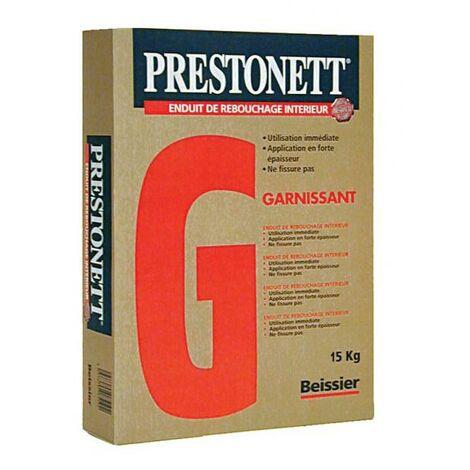 Enduit en poudre dégrossissant PRESTONETT G blanc sac de 15kg
