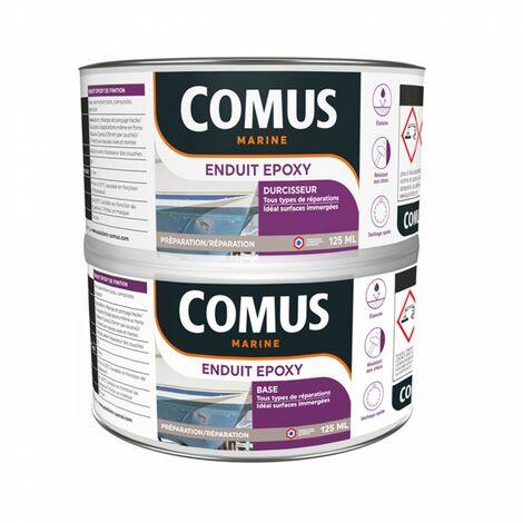 ENDUIT EPOXY (B+D) - 250ml - Enduit léger avec résines époxy et charges - COMUS - incolore
