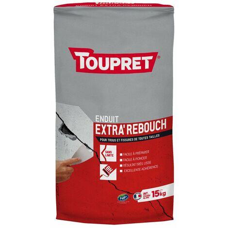 Enduit Extra Rebouch Poudre 15kg - TOUPRET