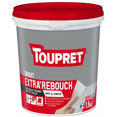 Enduit extra\'rebouch pâte Toupret - 1,5 kg - Blanc