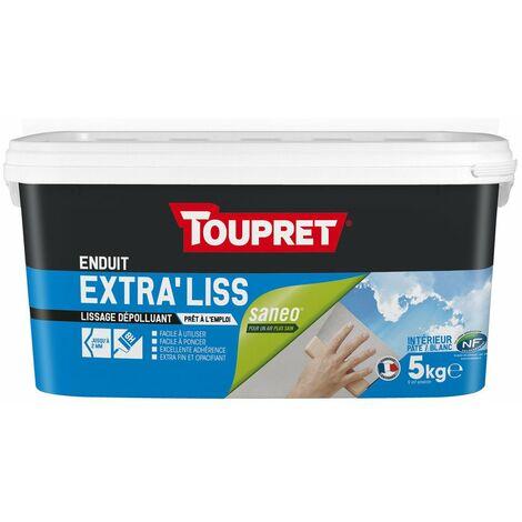 Enduit Lissage Pate Depolluant 5kg - TOUPRET