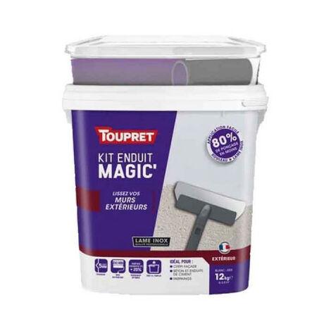 Enduit Magic Extérieur TOUPRET 12kg - MAGEX12K