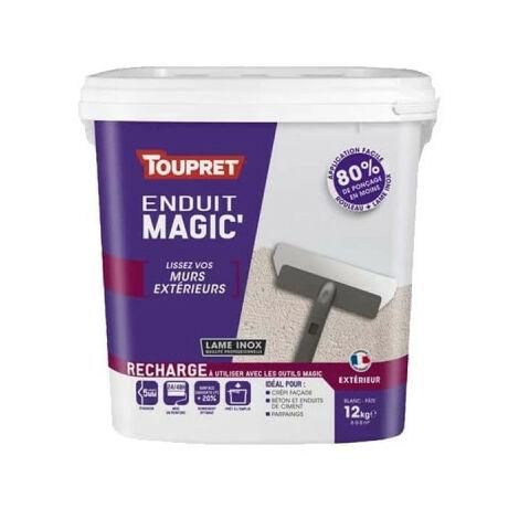 Enduit Magic Extérieur TOUPRET Recharge 12kg - MAGEX12