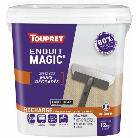 Enduit Magic Pate Allegee Rech 12kg - TOUPRET