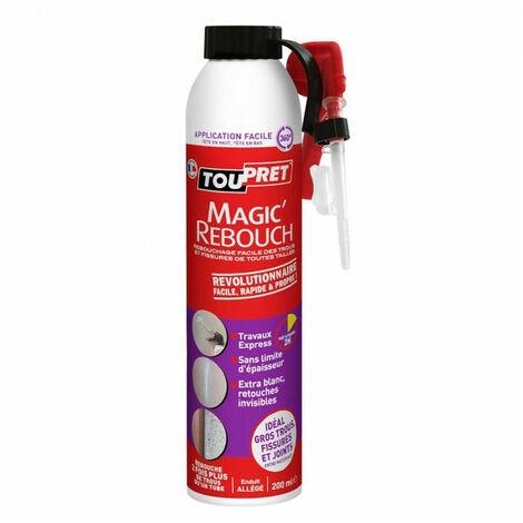 Enduit Magic'Rebouch en spray - blanc - 200ml TOUPRET